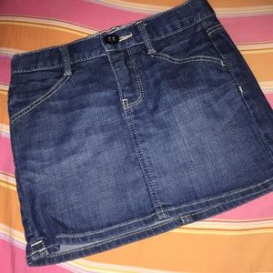 SIZE 7 girls denim skirt